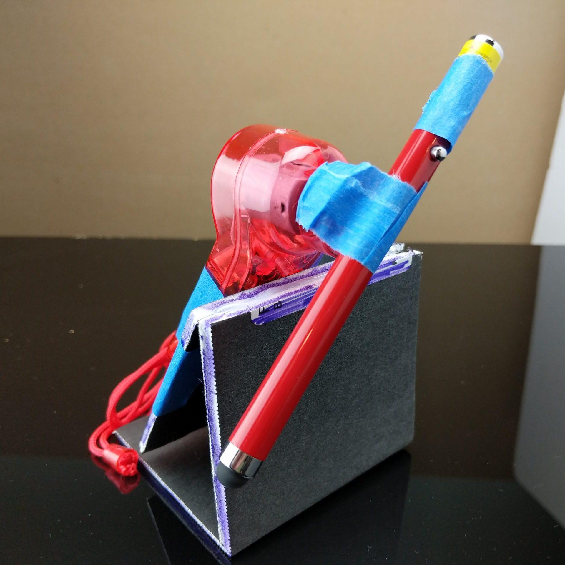 Laser spinner